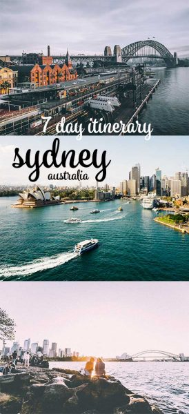 What to do in Sydney for 7 days: A perfect Sydney itinerary