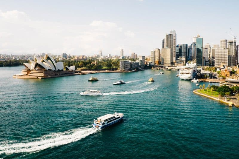 The Circular quay is a must for your 7 days in Sydney!