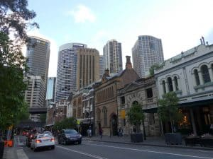The Rocks is one of the best activities to do in Sydney for architecture lovers