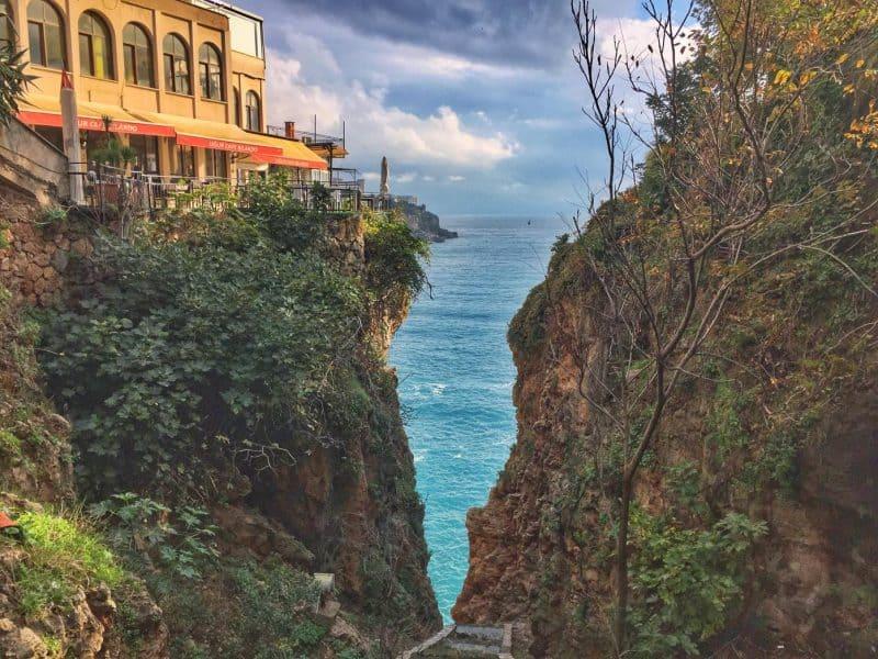 mesmerizing view of Antalya