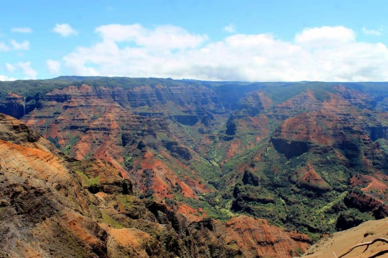 Include the Waimea Canyon in your Hawaii Itinerary