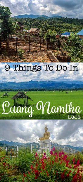 Luang Namtha's things to do