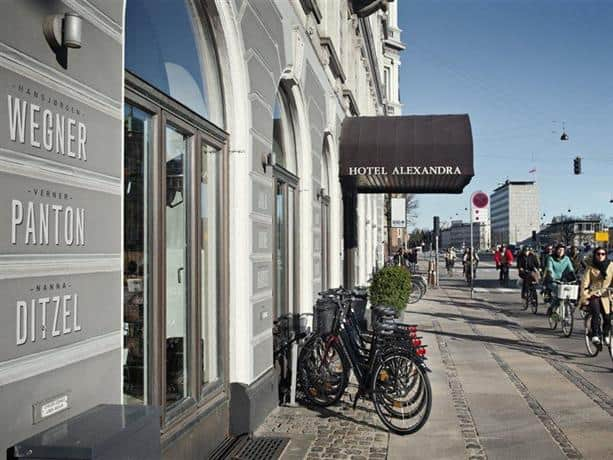 Alexandra Hotel is one of the best places to stay in copenhagen