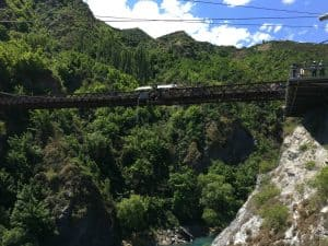 Enjoy the ultimate bungy jumping experience during your Queenstown itinerary
