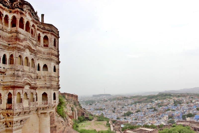 Plan a Rajasthan trip and do visit Mehrangarh Fort in Jodhpur.