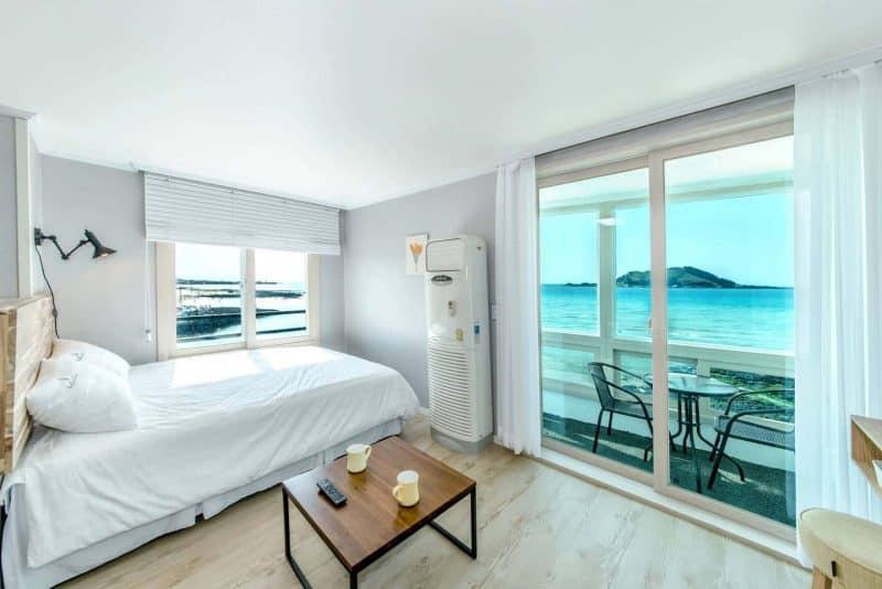Sea Ari pension airbnb luxury ccommodation Jeju