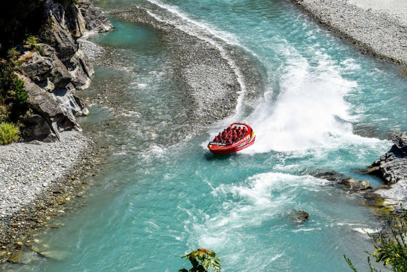 Shotover Jet is New Zealand's most thrilling jet boating ride and one of the best things to do in Queenstown