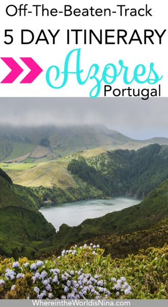 What to do in the Azores.