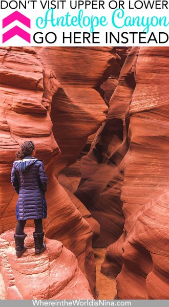Visiting Antelope Canyon in Winter
