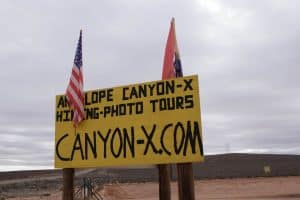 Visiting Canyon X - Antelope Canyon in January
