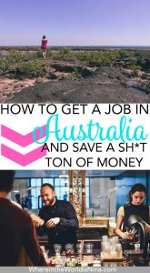 How to Get a Job in Australia & Actually Save Money in Australia