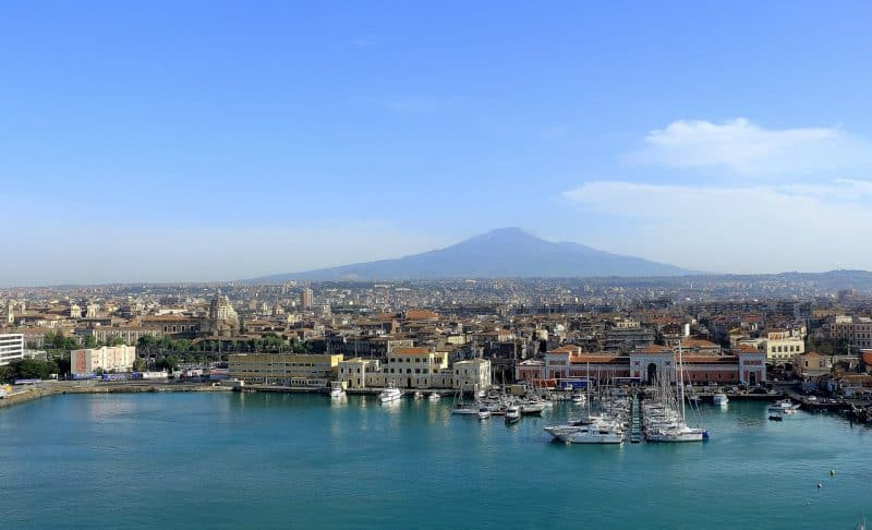Explore Catania on a Sicily road trip.