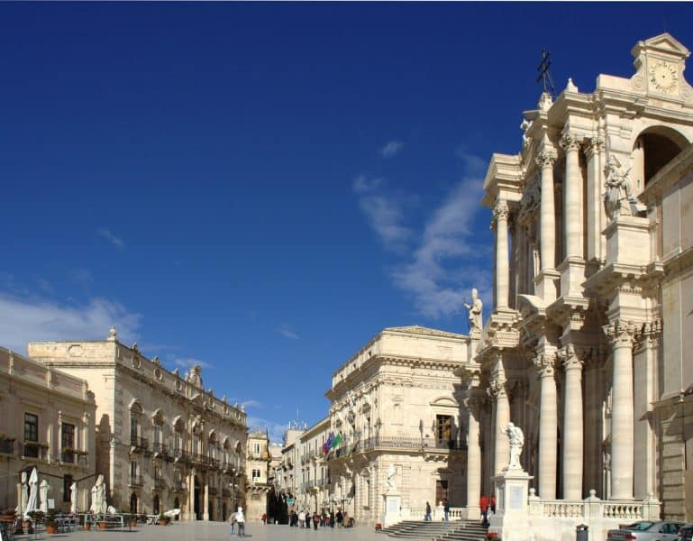 Siracusa is one of the most beautiful destination during your Sicily road trip.