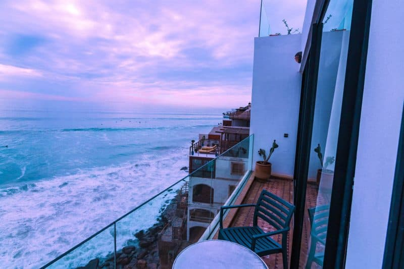 Surf Berbere Surf Camp in Taghazout has some killer views