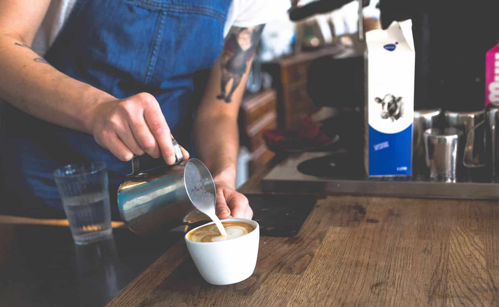 Coffee is life in Australia. Being a barista is one of the most popular jobs in Australia for foreigners.