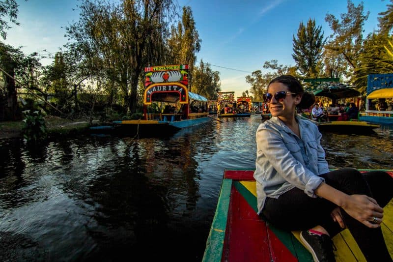 Xochimilco is a fun spot to go while on a Mexico City itinerary.