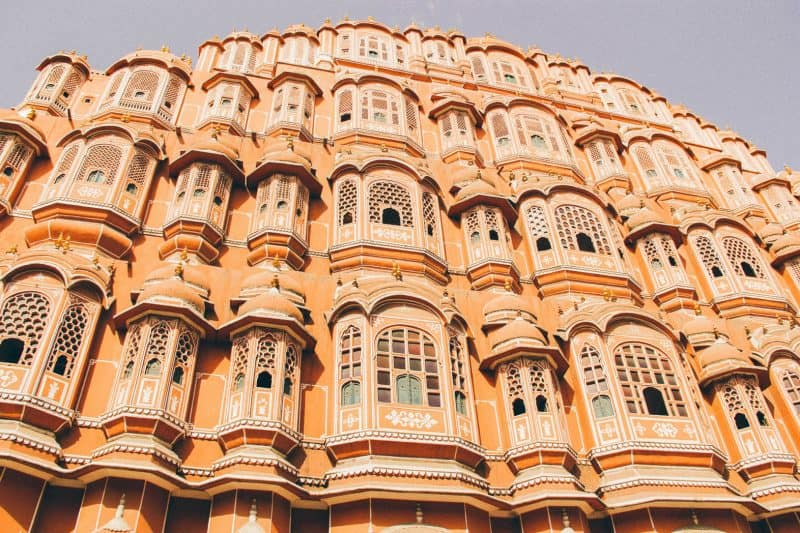 6 days in India, exploring this Golden Triangle itinerary, Hawa Mahal is a must!