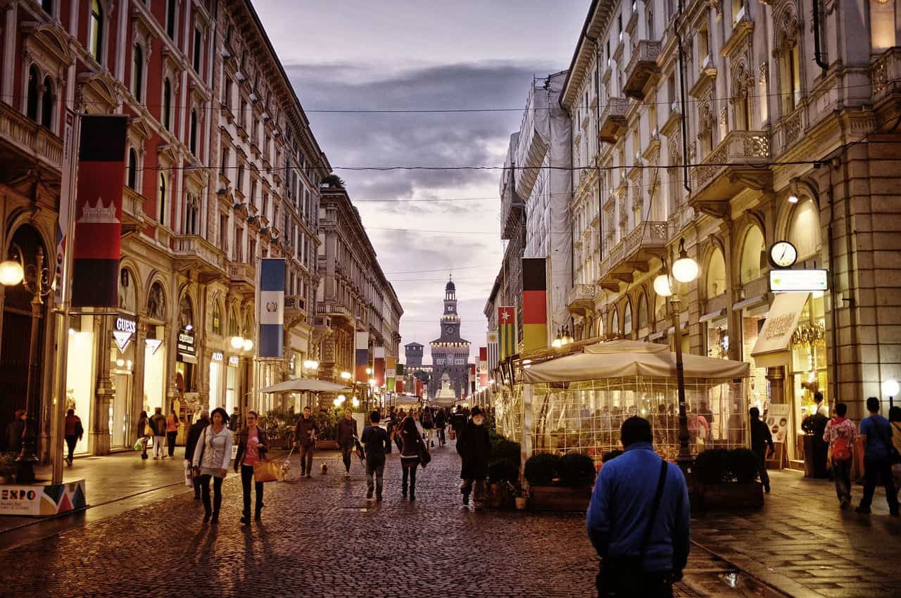 how to get from milan to rome