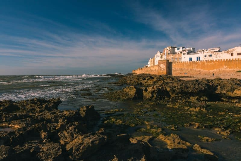 One of the best beaches in Morocco is Essaouira
