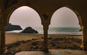 Marabout beach, one of Morocco's best beaches