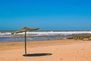 For one of the best beaches in Morocco for peace and quiet, Sidi Kaouki is the spot.