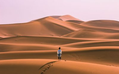 This Is What It's Like Camping in the Sahara Desert in Morocco—Erg Chigaga Trip