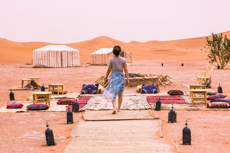 Use this camp if you want to go on a Morocco desert tour.