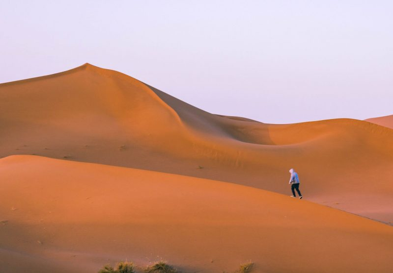 When visiting Mhamid, you need to take a Sahara Desert Morocco tour.