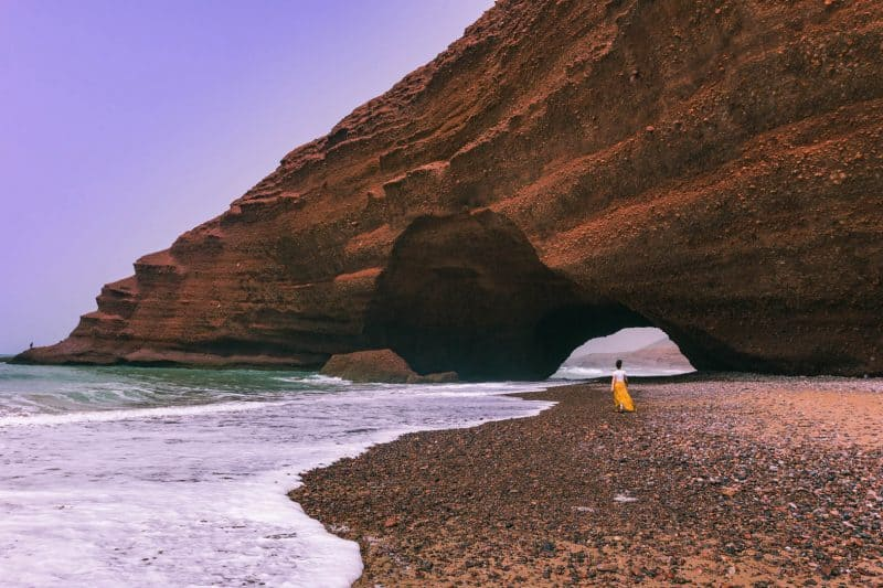 Morocco's most beautiful beach - Legzira