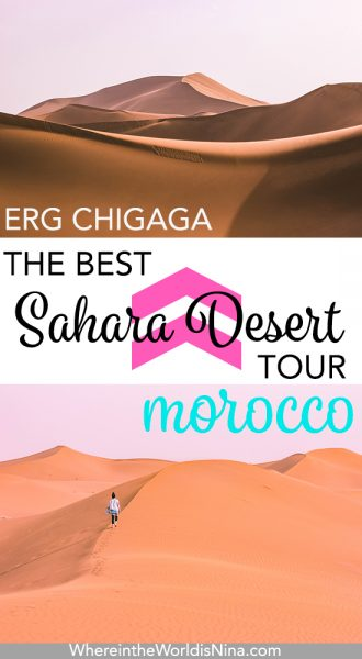 Morocco Desert Tour to Erg Chigaga: Camping in the Sahara Desert