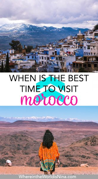 february and March are the Best Time to Visit Morocco