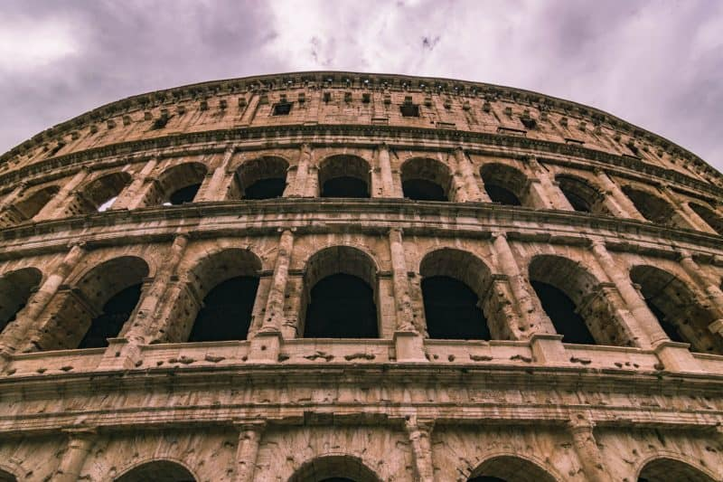 The colosseum is a must-do experience in Europe.
