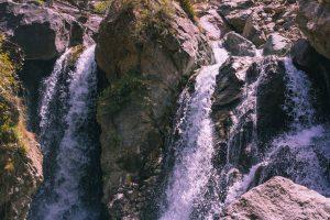 A waterfall in Imlil