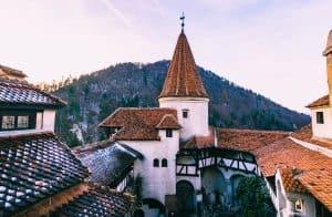 Bran Castle on a Transylvania tour.