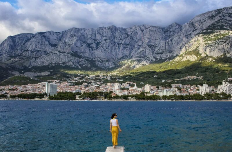 Makarska Croatia on a group trip