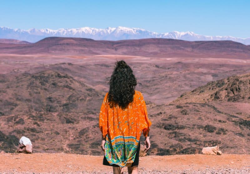 The best time to visit Morocco is in March!