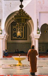 Morocco tips for visiting a mosque.