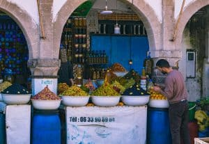 Morocco has the best olives!