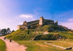 Rasnov Citadel in Transylvania