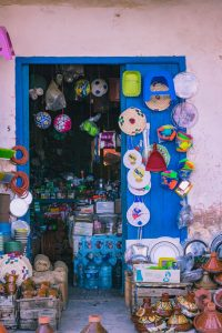 Walking around Morocco tips.