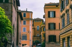 Do a Rome guide tour of Trastevere or walk around yourself.