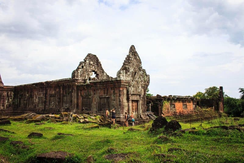 Old Temple in Wat Phou, Bolaven