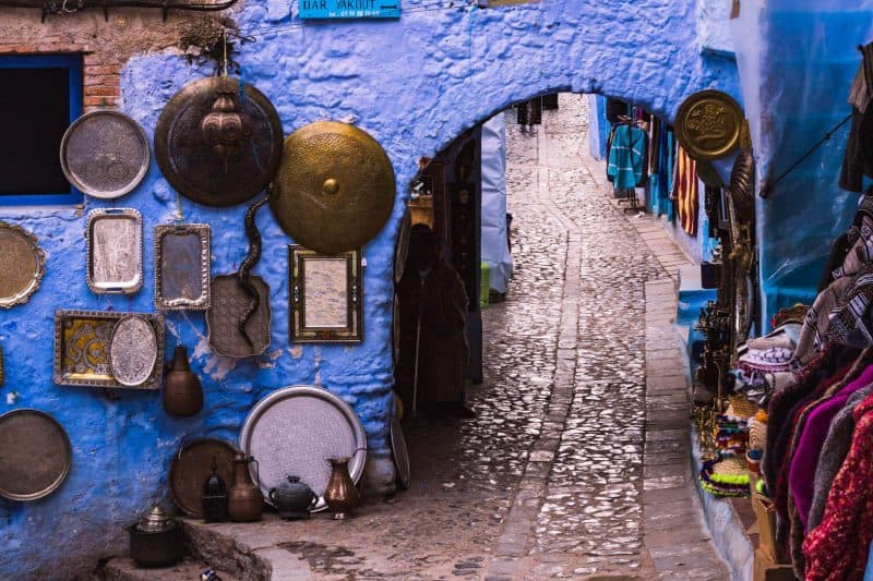 Chefchaouen shopping.