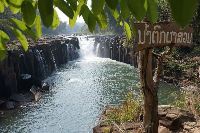 Champassak cascade