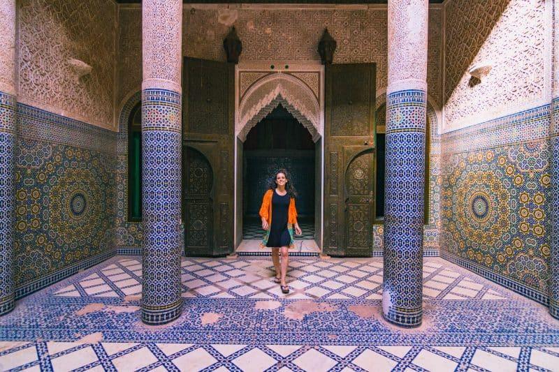 Kasbah Telouet in morocco