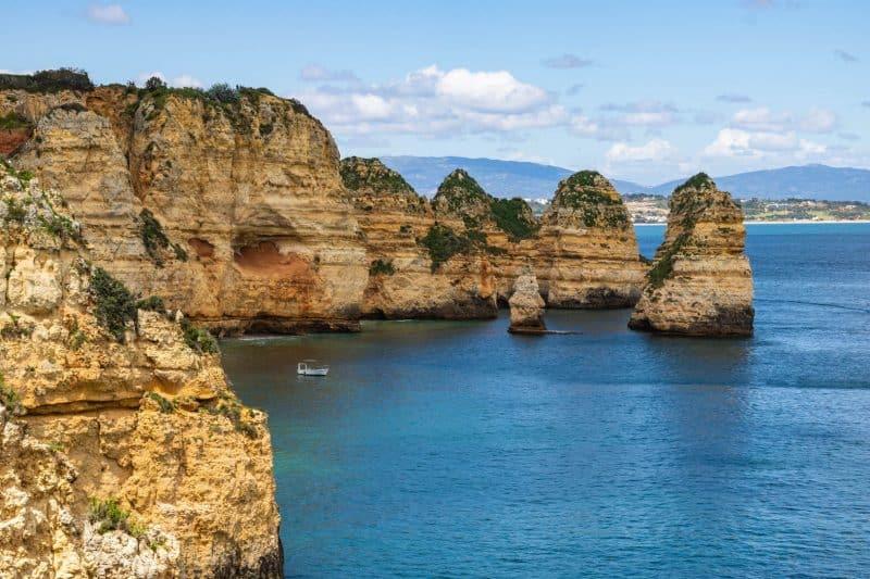 Boating in the Algarve