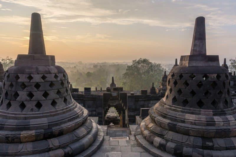 Indonesia temple Yogyakarta