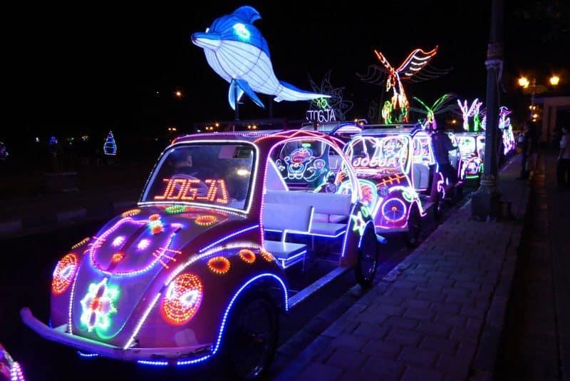 LED cars tour Yogyakarta