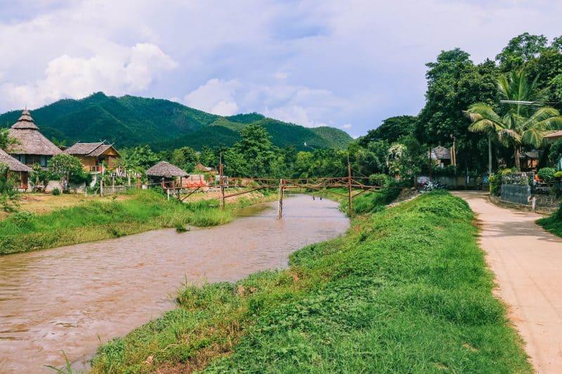 Pai river view