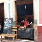 Street food vendor Mexico